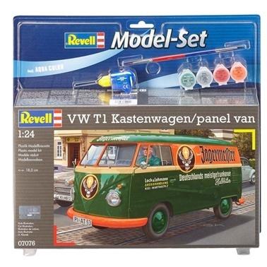 Revell Revell VW T1 Kastenwagen Maket Seti Renkli